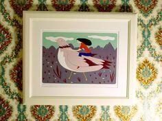 La libertad del pájaro - Impresión Digital. €22,15, via Etsy.