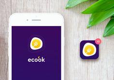 다음 @Behance 프로젝트 확인: \u201cApp | Ecook\u201d https://www.behance.net/gallery/50622955/App-Ecook