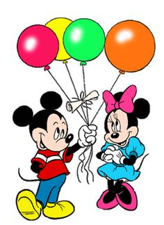 Disney Babies Clip Art | Turma do Mickey da Disney fazendo Aniversário | Imagens para ...