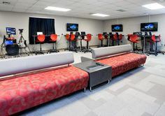 Check out this great space for students! KI supports technology while providing open, flexible areas for collaboration.
