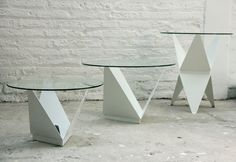Prisma + Mesa Origami / SAVIA,© Catalina Tuca