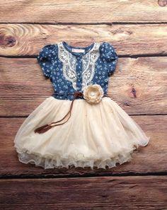 paisley flower girl dress