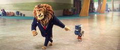 Zootopia/Zootropolis   Mayor Lionhart Mayor Assistant Bellwether