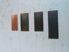 Color choices: Raw copper, light copper, antique copper and dark copper