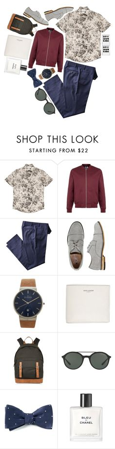 """Menswear IV"" by ibavale14 ❤ liked on Polyvore featuring Gucci, Topman, X-Ray, Skagen, Yves Saint Laurent, River Island, Giorgio Armani, Chanel, men's fashion and menswear"