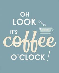 THINK! Coffee o'clock