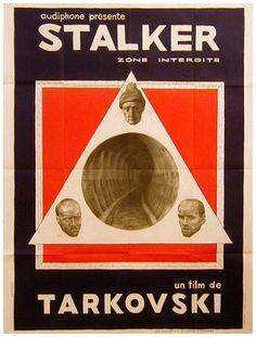 Stalker. Obra maestra del cine soviético.