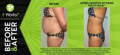 Go from flab to fit with the Fit Pack, including our Advanced Formula Fat Fighter, Utlimate ProFIT, Greens, Defining Gel, and the It Works! Wrap! Which one is your favorite stay-fit product? Reduce Weight, Lose Weight, It Works Body Wraps, Fat Fighters, It Works Global, Ultimate Body Applicator, It Works Products, Free Products, 90 Day Challenge