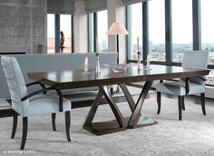Z Dining Table | Hellman-Chang |