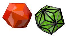 Triakis icosahedron / #HVGAW #nHD #Catalansolid