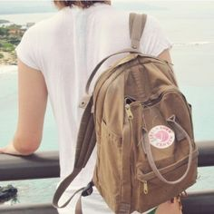 """• Available May 2016 • Fjällräven Kånken 17"""" laptop backpack in the color """"sand."""" Hit like on this listing to bookmark it! Fjällräven Bags"""