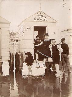 Victorian swimwear