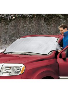 All Seasons Windshield Cover Zoom In