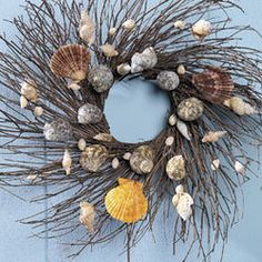 Beach wreath for my future home near the ocean!