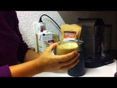 Deluxe Energy Drink (Macuccino mit Nespresso Milchschäumer Aeroccino her...