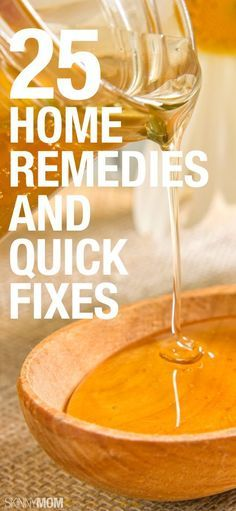 Here are the best quick fixes and home remedies that really work! Click to read!