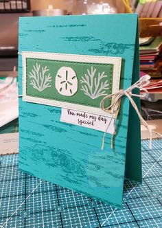 Friend Cards, Cards For Friends, Stampin Up Paper Pumpkin, Pumpkin Cards, Stamping Up Cards, Sea And Ocean, Deck Of Cards, Homemade Cards, Scrapbooks
