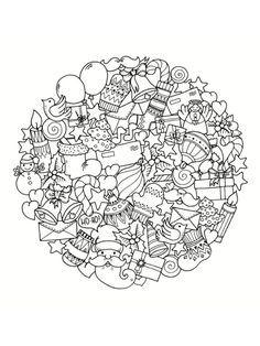 Coloriage Mandala De Noel 30 Dessins A Imprimer Mandala Malvorlagen Kostenlose Vorlagen Ausmalen
