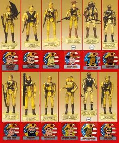 eagle force action figures - Google Search