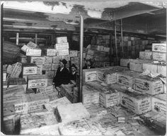 Photo: Prohibition Agents,Cases of scotch whiskey,ship,1924,CG HistoricalFindings http://www.amazon.com/dp/B005QDM2AC/ref=cm_sw_r_pi_dp_l49Pvb1XJPGFB