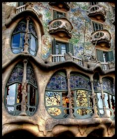 Gaudi decor/Barcelona,Spain  #Barcelona #Spain #Gaudi   Check our website to get more ideas about beautiful places to visit in Barcelona   www.casamona.com