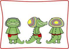 Canal Panda Blog: Quem é o crocodilo Crocas?