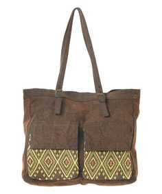 Another great find on #zulily! Canvas Traveler Tote - Women by RVCA #zulilyfinds