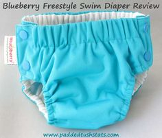 Blueberry Freestyle Swim Diaper Review