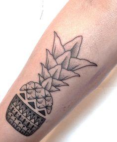 Ananas de l'Entichoppe #fabricetoutcourt #tattoo