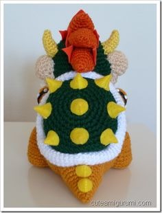 Bowser free pattern patterns and crochet bowser amigurumi dt1010fo