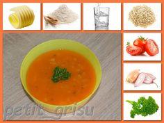 Blog uživatelky petit_grisu | Modrykonik.cz Okra, Thai Red Curry, Cantaloupe, Blog, Fruit, Ethnic Recipes, Covered Boxes, Fabric, Tejido