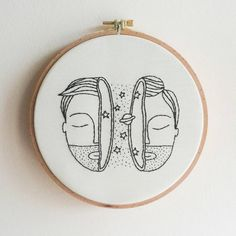 "86 Beğenme, 4 Yorum - Instagram'da Begüm Genç (@roon_embroidery): ""Space man🚀 . . . #embroidery #art #handmade #handembroidery #space #wallart #wallart #dmc #artwork…"""