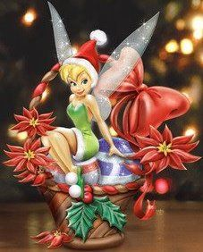 Disney Tinker Bell We Wish You a Fairy Christmas Basket. Tinkerbell Pictures, Tinkerbell And Friends, Tinkerbell Disney, Peter Pan And Tinkerbell, Fairy Pictures, Disney Fairies, Christmas Time Is Here, Christmas Fairy, Disney Christmas