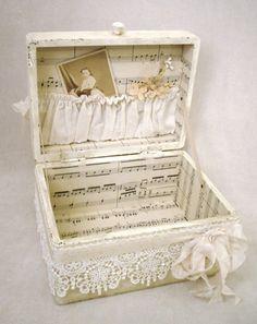 A finished treasure box!
