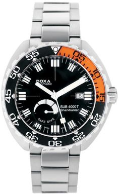 Doxa Watch Sub 4000T Sharkhunter Sapphire Bezel #add-content #bezel-unidirectional #bracelet-strap-steel #brand-doxa #case-depth-15mm #case-material-steel #case-width-47mm #date-yes #delivery-timescale-1-2-weeks #dial-colour-black #gender-mens #helium-valve-yes #limited-edition-yes #luxury #movement-automatic #official-stockist-for-doxa-watches #packaging-doxa-watch-packaging #power-reserve-yes #style-divers #subcat-sub-4000t #supplier-model-no-635189692878…