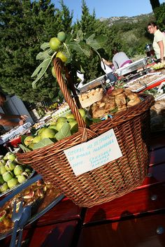 """""""Local delicacy - Freshly picked  and sun-dried figs"""" [yes, please!!!], by L. Z., via Flickr.  One of a series of photos only (inspiration to find recipes!) from """"Fig festival - 'Festa od smokava' - Spomen dom Reževići, Montenegro"""""""