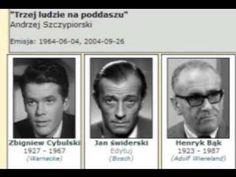 """""""Trzej ludzie na poddaszu"""" Andrzeja Szczypiorskiego"""