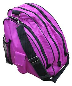 cde913cc9925 AR Sports Deluxe Skate Bag Berry   Check this awesome product by going to  the link
