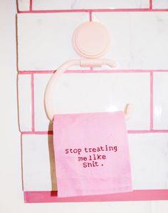'stop treating me li