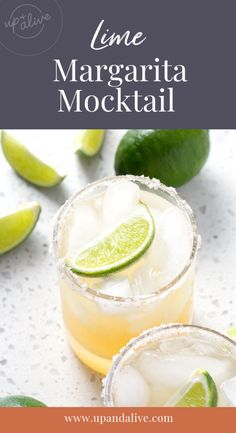 If you're looking for a refreshing virgin cocktail that can be made in 10 minutes then try this Margarita Mocktail recipe. It's made from only 5 ingredients. This recipe fits the Autoimmune Protocol, Paleo, and Vegetarian diets. Margarita Mocktail Recipe, Margarita Recipes, Paleo Recipes Easy, Real Food Recipes, Paleo Menu, Paleo Diet, Key Lime Margarita, Sugar Free Bacon, Refreshing Cocktails