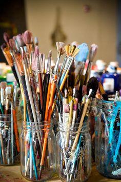 My Art Studio, Painting Studio, Painting & Drawing, Rangement Art, Creation Image, Art Du Croquis, Art Hoe Aesthetic, Images Esthétiques, Art Drawings Sketches