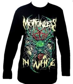 MOTIONLESS IN WHITE Spider Long Sleeve T Shirt par TheRockShirts