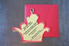 Creative Party Blog » Princess Crown Invitation Template