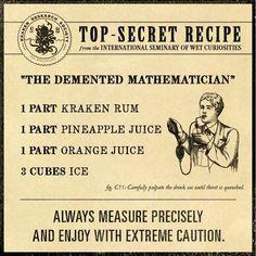 The Demented Mathematician | KRAKEN RUM