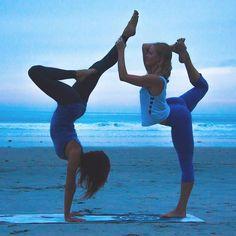 Teamwork makes the dream work  #laviebohemeyoga #yoga