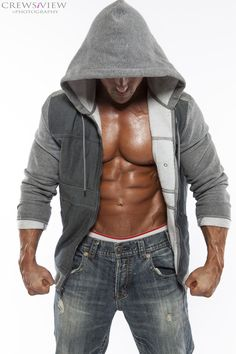 Good friend, D. One of the top personal trainers in OC. Fitness Photos, Dj, Leather Jacket, Hoodies, Sexy, People, Sweaters, Jackets, Boudoir