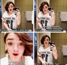 Maisie Williams and her words of wisdom