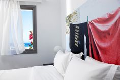 Anemi Hotel, a boutique hotel in Folegandros - Page Superior Room, Small Luxury Hotels, Soothing Colors, A Boutique, Contemporary Design, Modern Furniture, Architecture, Greece, Rooms
