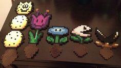 Mario plant perler