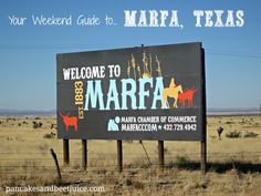Pancakes and Beet Juice: Texas Travels: A Weekend in Marfa, Texas from Dallas